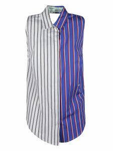 Off-White Stripe Apron Shirt