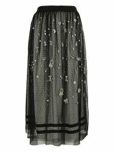 Ermanno Scervino Embroidered Skirt