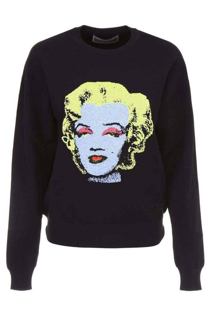 Versace Pullover With Intarsia