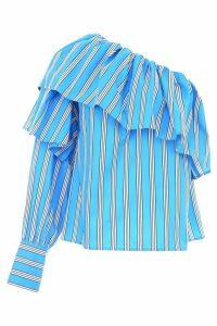 MSGM Striped Cotton Top