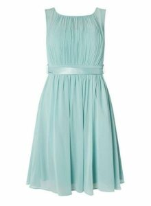 Womens **Showcase Green Thyme 'Beth' Prom Dress- Green, Green