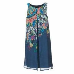 Desigual  ALXIA  women's Dress in Blue