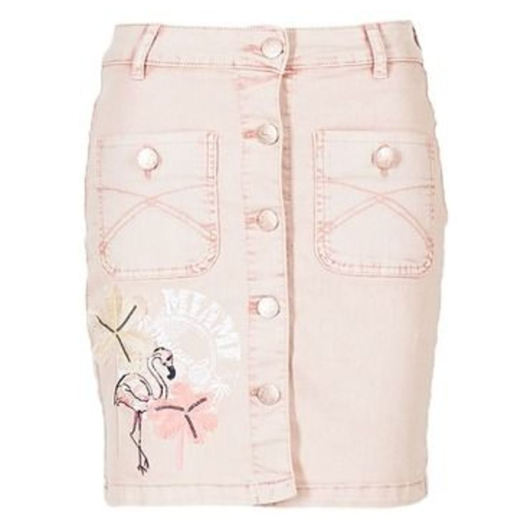 Desigual  AHOUAIDE  women's Skirt in Pink