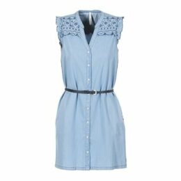 Pepe jeans  LURA  women's Dress in Blue