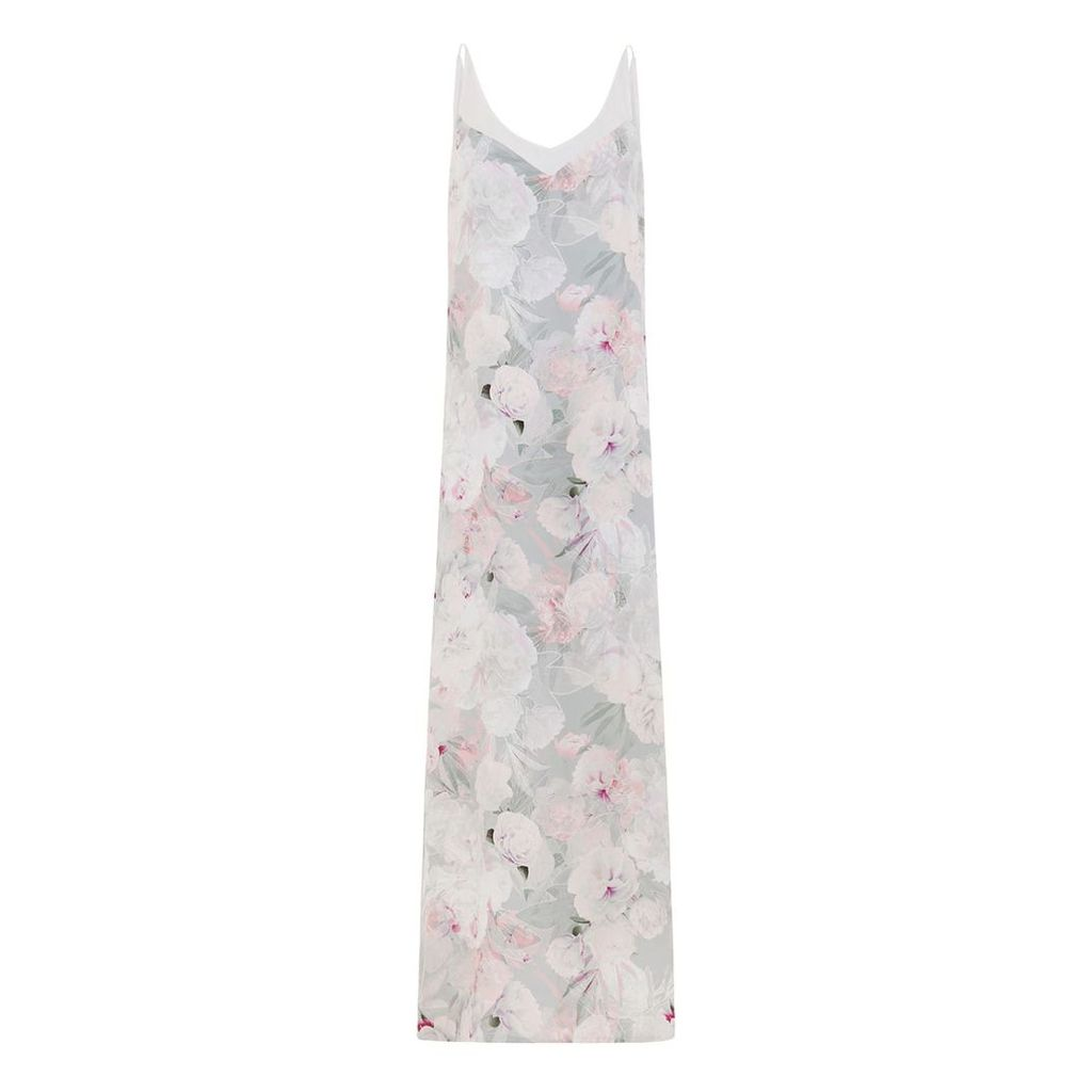 Abigail London - Silk Floral Print Lucy Maxi Dress