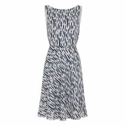 Abigail London - Silk Printed Charlotte Dress With Backless Detail