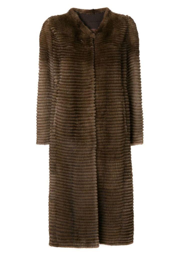 Liska long coat - Brown