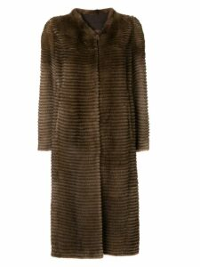 Liska long coat - Brown