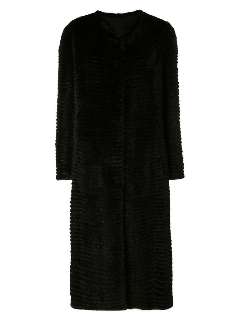 Liska long coat - Black