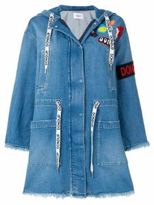 Dondup denim parka - Blue