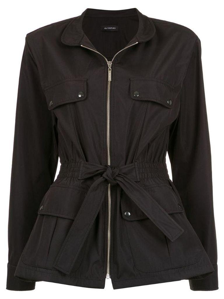 Olympiah Explora coat - Black