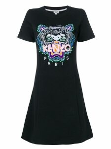 Kenzo Tiger sweatshirt dress - Black