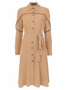 Olympiah Jasmine shirt dress - Brown