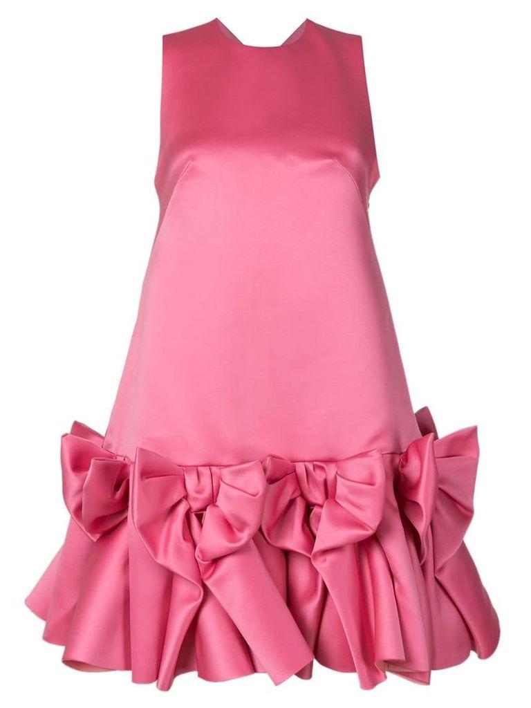 Viktor & Rolf Soir Bow Volant mini dress - Pink