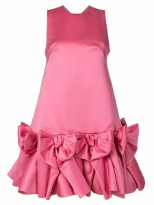 Viktor & Rolf Soir Bow Volant mini dress - Pink