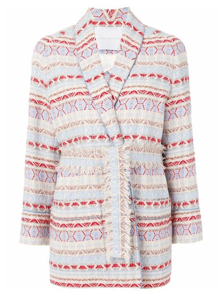 Giada Benincasa oversized tweed blazer - Multicolour