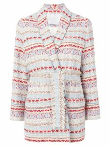 Giada Benincasa oversized tweed blazer - Multicolour