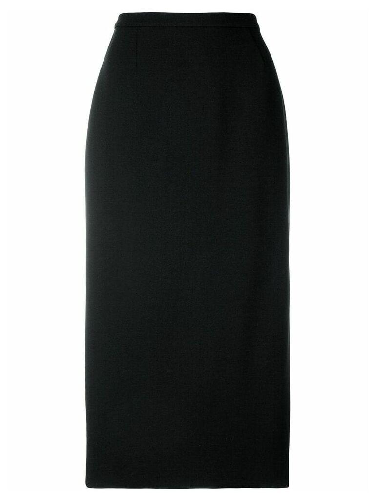Rochas high waisted skirt - Black