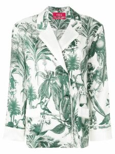 F.R.S For Restless Sleepers tropical print top - Green