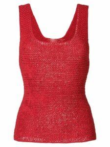 Tela woven tank top - Red