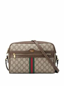 Gucci Ophidia GG Supreme small shoulder bag - Brown