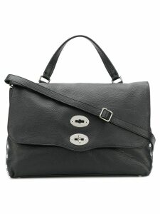 Zanellato studded tote bag - Black