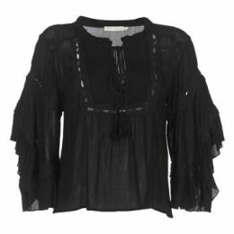 See U Soon  8112057  women's Blouse in Black