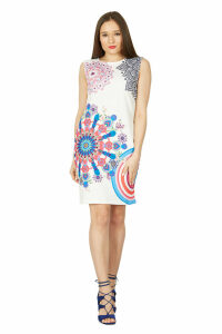 Izabel London Colourful Shift Dress