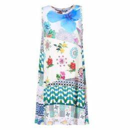 Desigual  OUSOUA  women's Dress in Multicolour