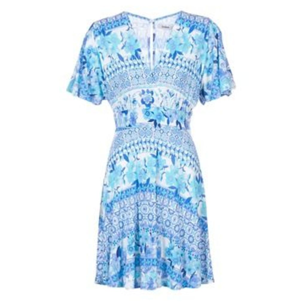 Desigual  DEFREA  women's Dress in Blue