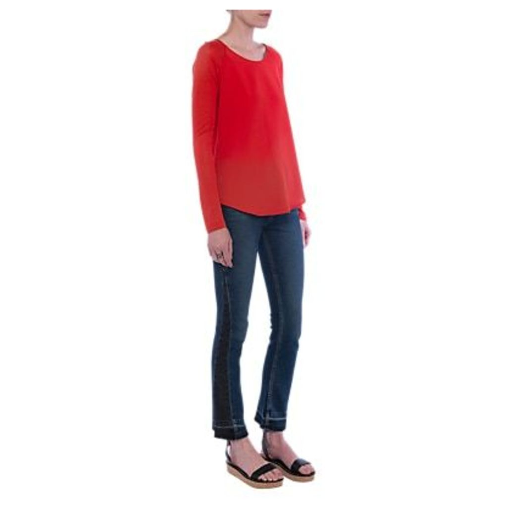 French Connection Classic Crepe Raglan Top