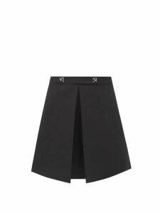 Vita Kin - Spanish Pigeon Embroidered Linen Dress - Womens - Orange
