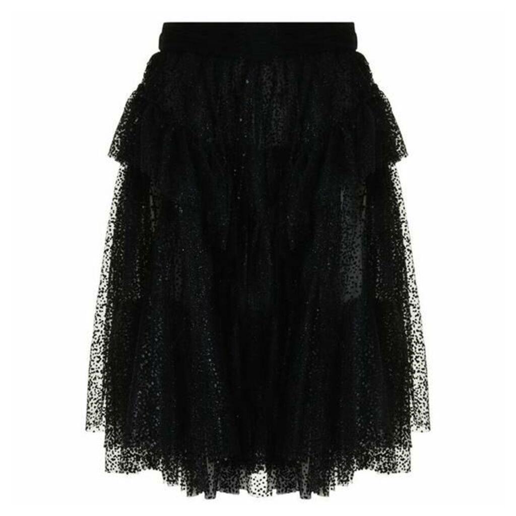 DSQUARED2 Polka Tule Skirt