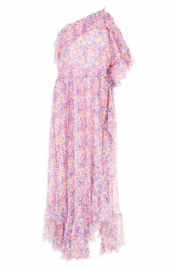 Philosophy di Lorenzo Serafini Long Printed Dress