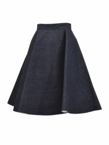 Calvin Klein Flared Denim Skirt