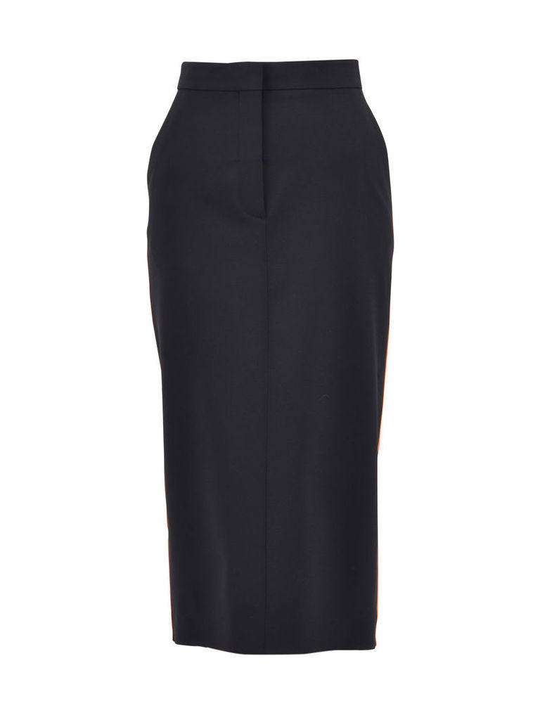 Calvin Klein Blue Pencil Skirt
