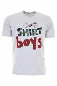 Comme des Garçons Shirt Boy T-shirt With Patches