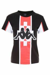 Marcelo Burlon Kappa T-shirt With Embroidery
