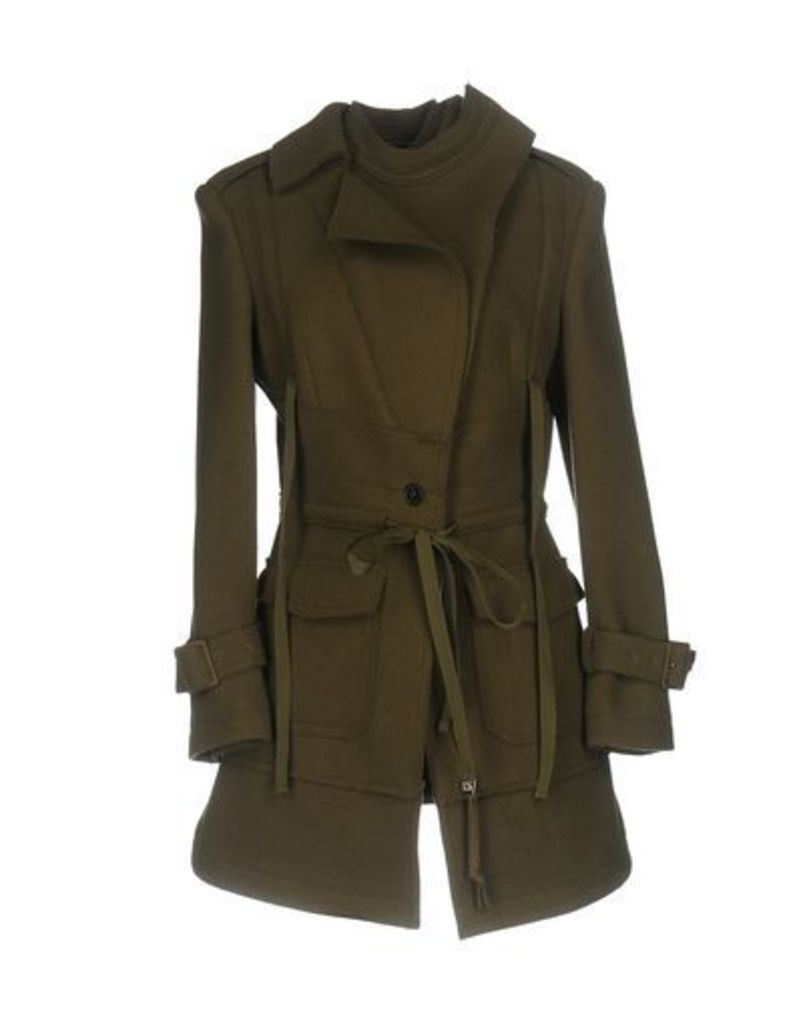 ALEXANDER MCQUEEN COATS & JACKETS Coats Women on YOOX.COM