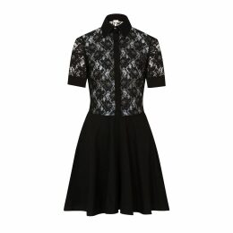 Sophie Cameron Davies - Black Cotton Lace Dress