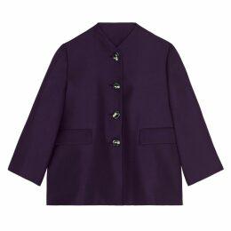 Lindsay Nicholas New York - Swing Jacket In Blackberry