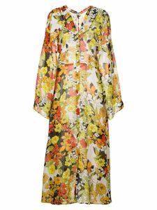 Attico floral print coat - Multicolour