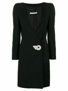 Givenchy embellished V-neck dress - Black