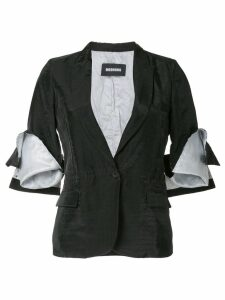 Moohong cutted blazer - Black