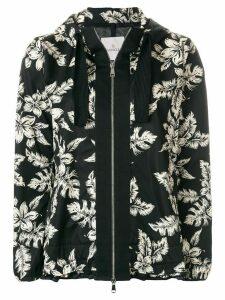 Moncler Morion floral print jacket - Black