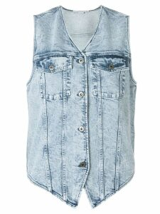 Stella McCartney denim waistcoat - Blue