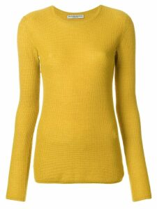 Holland & Holland Small Waffle jumper - Yellow