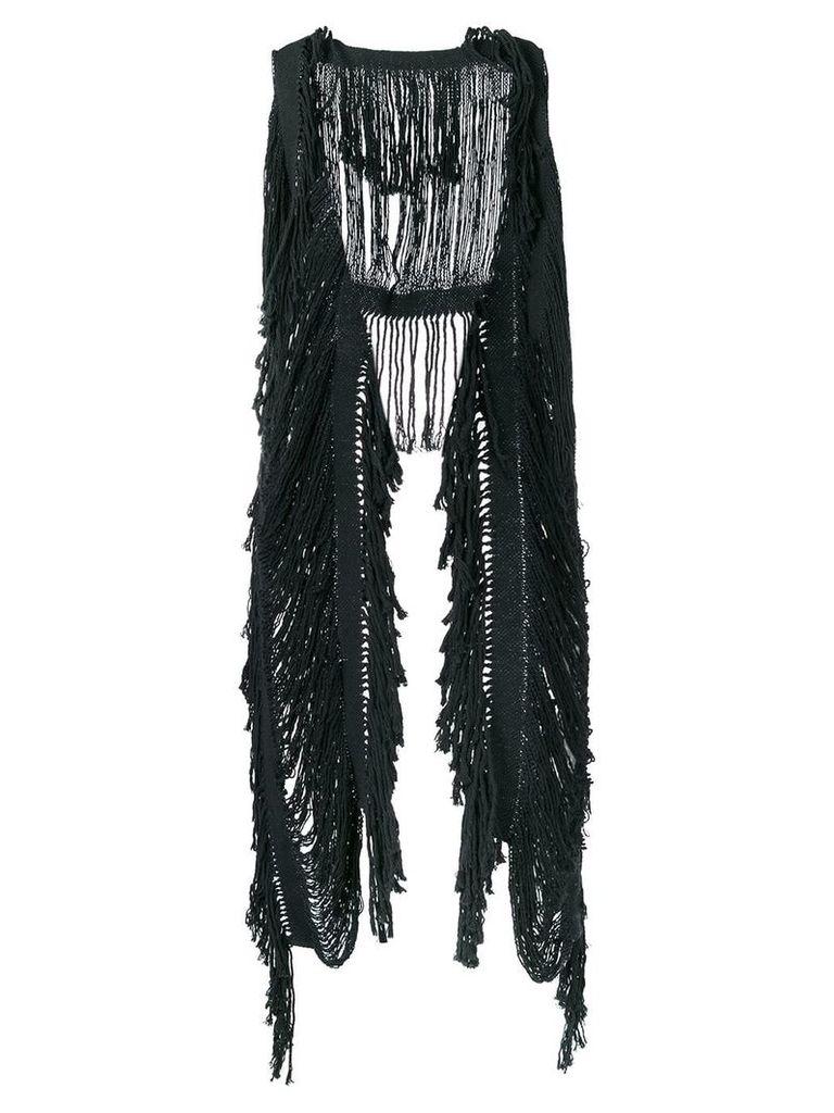 Caravana Yaax Col knitted top - Grey