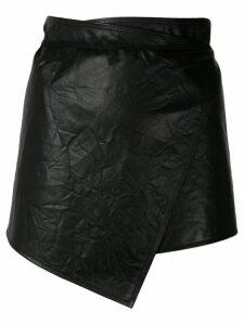 Ann Demeulemeester asymmetric style skirt - Black