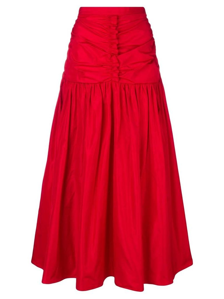 Stella McCartney fitted waist skirt - Red